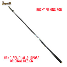 original Los Angeles Fishing rod front light pure carbon telescopic long section of Los Angeles pole long shot pole position