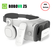 Global Version BOBOVR Z5 Virtual Reality 3D glasses Cardboard FOV 120 Degrees VR Box 3D Headset for Android and iOS smartphones