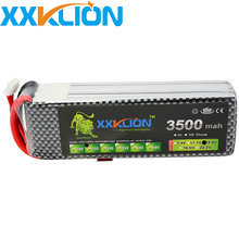 Buy XXKLION RC Lipo Battery 4S 14.8v 3500mAh 25C RC boat RC Aircraft Helicopter Car Boat Drones Quadcopter Li-Polymer Batteria for $34.00 in AliExpress store