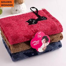 Lovely Cat Towel Home Furnishing Thickened Towel Gift Face Towels Cotton Kids Sports Washcloth Washrag High Quality Healthy(China)