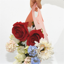 1pcs Flower Baskets Flowers Packaging Gift Boxes Floral Arrangements Plastic Gift Bag Supplies Flower Shop Dedicated 50*50cm(China)
