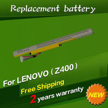 JIGU Free shipping laptop Battery For LENOVO for Ideapad Z400 Z400S Z400A Z400T Z510 Z510A Z500 Z500A L12S4K01 L12L4K01