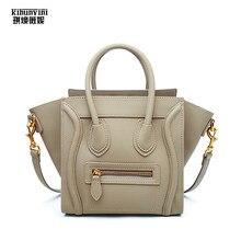 Brand Designer Luxury Bags Handbags Women PU Leather Handbag Fashion Smile Face  Smiley Lady Hand Bag Bolsa Feminina Female Purse 077b7a4de2