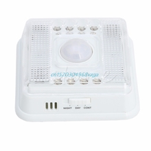 Wireless Infrared 8 LED Lamp Light Auto PIR Sensor Detector Motion Home Outdoor #H028#(China)