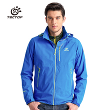 Winter North Millitary Wolf Mountain Single Softshell Jacket Men Hiking Clothing Outdoor Climbing Power Sport Rain Jacket Men