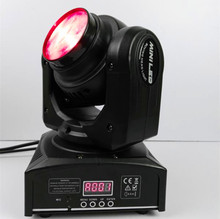40w mini led beam moving head rgbw 4in1 rotation of the infinite speed moving head stage light 2pcs/lot(China)