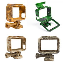 Plastic Protective Housing Sports Camera Case Outdoor Camouflage Protection Border Frame for Go Pro Hero 5 Gopro Accessories(China)
