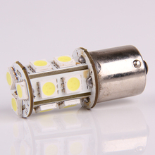 LED Car styling New 1156 R10W BA15S 245 1073 1093 13 5050 SMD 6000K P21W White Car AUTO Tail Turn Signal Light Bulb 12V