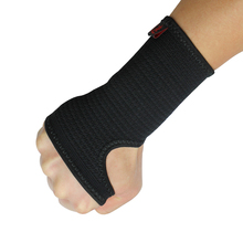 Kuangmi Compression Wrist Support Sports Wristband Bracer Hand Palm Protector Wrist Wraps Strap Weightlifting Boxing Guard 1 pc(China)
