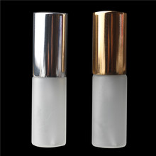 5ml Portable Mini  Glass Perfume Bottle With Aluminum Atomizer Empty Cosmetic Containers For Try sample bottle(50pieces a lot )