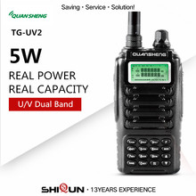 QUANSHENG 5W Ham Radio HF Transceiver Dual Band QUANSHENG TG-UV2 VHF UHF Powerful Walkie Talkie 10KM With FCC CE 2 Way Radio UHF