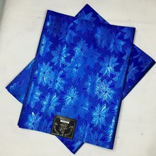 New design headtie,Free shipping african sego headtie,Royal blue headtie Nigeria Gele High quality Nigeria Gele&Ipele headtie(China)