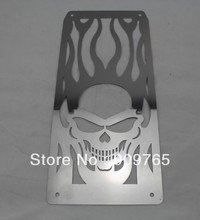 Free Shipping 1 Pcs Stainless Steel Radiator Frame Grill Grille Cover For Honda Steed VLX 600 400
