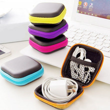 2017 Portable Digital Gadget Travel Storage Bag for U Disk, USB Data Cable,SD Card, Phone, Electronic Products Accessories Pouch(China)