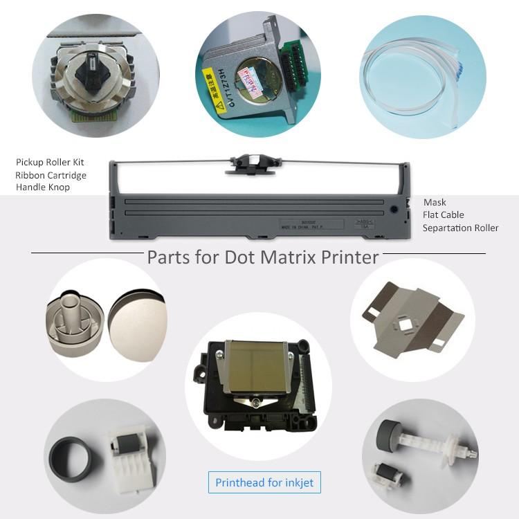 Dot matrix parts