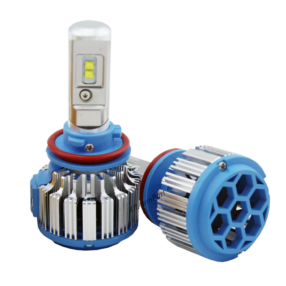 H11 Car LED Headlights H7 H1 H3 H11/H8/H9 HB3/9005 HB4/9006 H27 880/881 7200LM Super Power Canbus Replacement LED Bulbs lamp Kit<br><br>Aliexpress