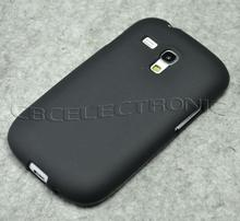 New High quality Black TPU Matte Gel Skin Case Cover For Samsung Galaxy S3 Mini i8190 Free Shipping(China)