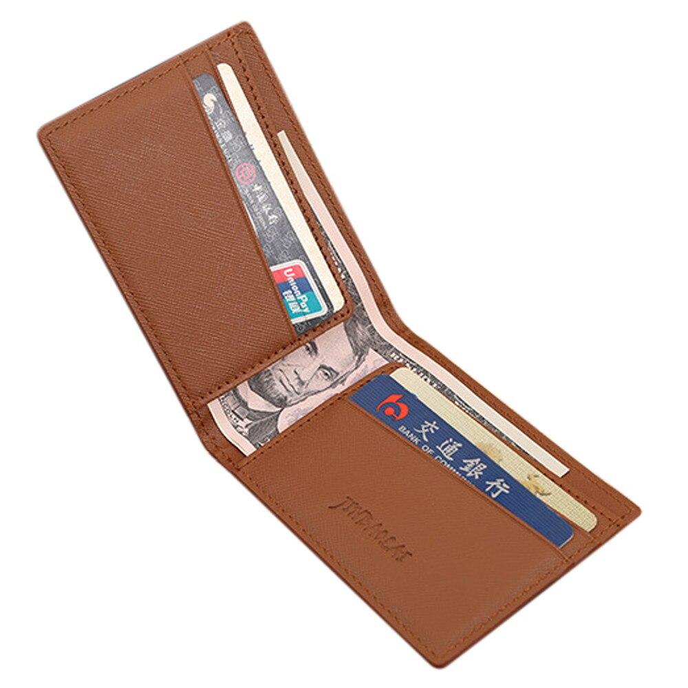 New Famous Brand Mens Wallets dollar price Pu Leather Bifold Cards Holder Slim Wallet Money Purse Billfold carteira masculina<br><br>Aliexpress