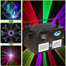 5w dance floor light card laser Animation Lights, RGB Laser Color with SD Card
