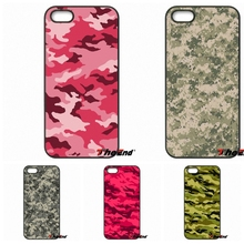 For Huawei Ascend P6 P7 P8 P9 P10 Lite Plus 2017 Honor 5C 6 4X 5X Mate 8 7 9 Fashion Army Camo Camouflage Skin Hard Phone Case