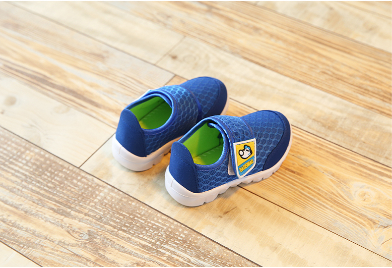 17 Autumn Kids Shoes Boys Girls Sports Shoes Breathable Mesh Children Casual Shoes Sneakers Soft Sole Toddler Baby Shoes 12