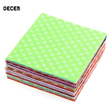 15*15CM 10Colors Mixed Polyester Felt Fabric Bundle Sewing Nonwoven Felt 1 MM Thickness For DIY Handmade Sewing Crafts Kids Toy