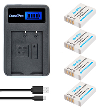 4pc NP-95 NP 95 NP95 Rechargeable Li-ion Battery + LCD Charger For FUJIFILM F30 F31 F30fd F31fd 3D W1 X100T X100S X100 X-S1 3DW1(China)