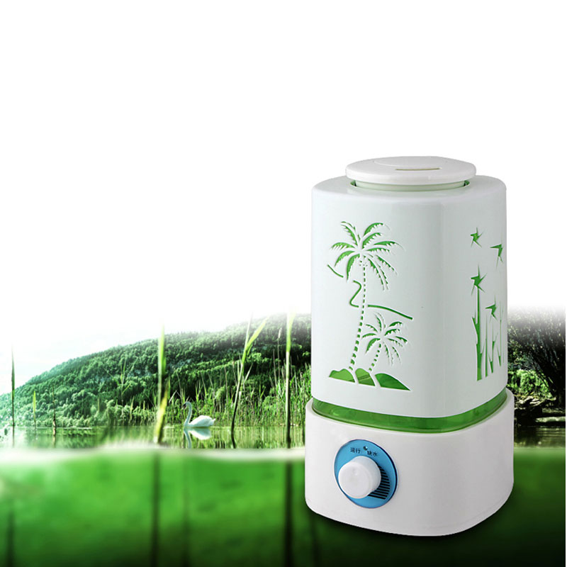 Home Air Humidifier Aroma Diffuser Ultrasonic 25W 2L Oil Diffuser Mist Maker Fogger With EU US Plug 1pcs<br>