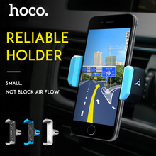 HOCO Phone Car Holder Air Outlet 360 Degree Rotating Car styling Stand for iPhone Samsung Mobile Phones Universal Support Clip(Hong Kong)