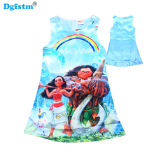 Trolls Children Dress Clothing Summer Dresses Girls Baby Pajamas Costume Princess Party dress Vestidos Infantis Clothes