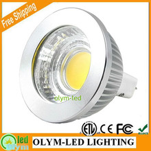 5X Energy Saving Lamp MR16 LED 12V COB Dimmable 5W 7W 9W LED Spot Light Warm White Cold White CE RoHS ETL
