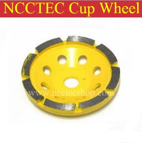5 Segmented Type diamond grinding CUP wheel | 125mm Concrete DRY grinding disc | single row head abrasive wheel FREE shipping<br><br>Aliexpress