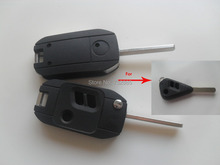 HKP Free Shipping Replacement Key Case Fix For Subaru Legacy Outback 3 Buttons Modified Folding Flip Remote Key Shell