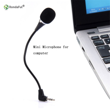 Speakers for Nnotebook Mini Condenser Sound Podcast Studio Microphone for computer PC Microphone Speech Bluetooth Audio Receiver(China)