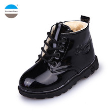2017 1 to 5 years old fashion kids boots baby boy and girl martin boots autumn winter keep warm children cotton boots