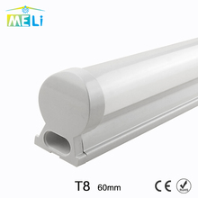 PVC Plastic 10W LED Tube T8 Light 220V 240V 60cm LED T8 Lamp Led Wall Lamp Cold White Led Fluorescent T8 Neon