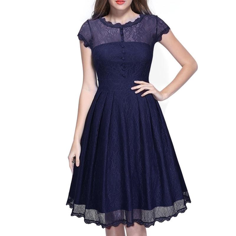 women dress-dark blue