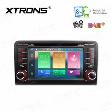 XTRONS 7'' Octa 8 Core Android 6.0 Radio Car DVD Player 2 din for Audi A3 S3 2003 2004 2005 2006 2007 2008-2013 GPS Navigation