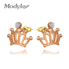 Modyle Free Shipping Delicate An crown Earrings,Gift to girlfriend is beautiful,Pure handmade fashionable elegance,2020234180