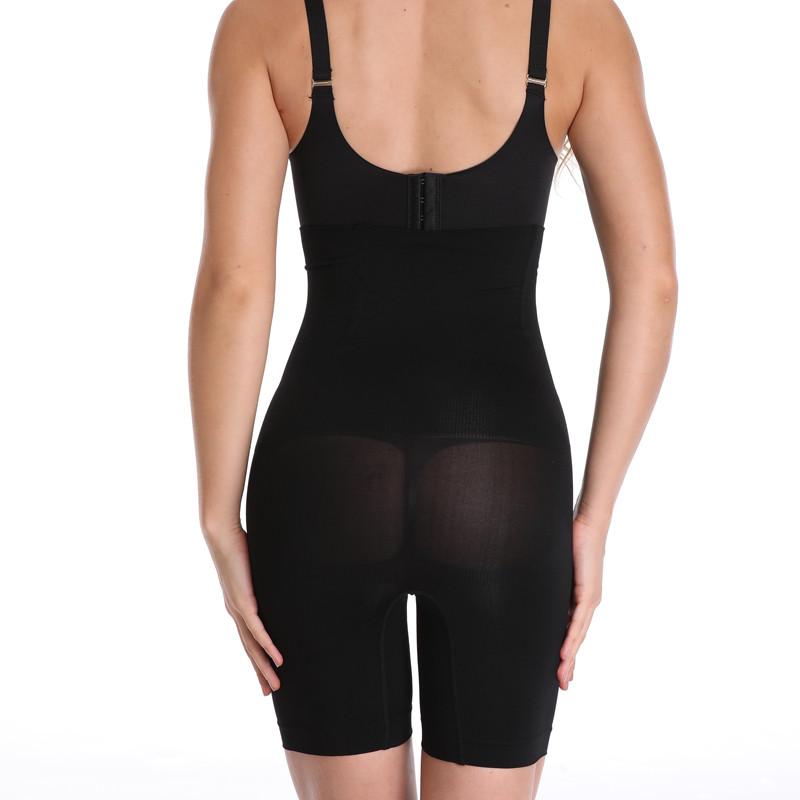 NINGMI Slimming Pants Women High Waist Trainer Tummy Control Panties Thigh Butt Lifter Slim Leg Hot Body Shaper Firm Power Short 13