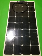 Freeshipping white or black power generation high efficiency solar panels in 100 w 12v