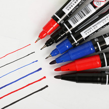 3PCS Marker Pen Student Learning Stationery Double Marqueurs BlackBoard Paint Pens 3 Color Select Writing Supplies