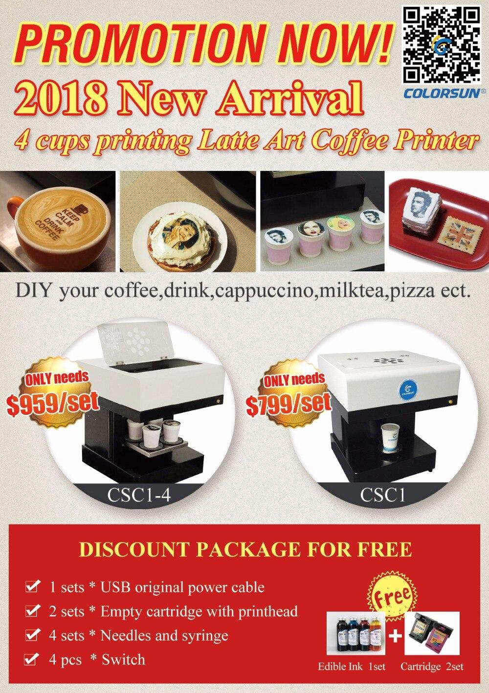 Coffee Printer 2018 BIG Feedback
