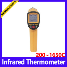 infrared thermometer manufacturer non-contact digital laser ir infrared thermometer 392~2102 Fahrenheit GM1650 BENETECH Brand(China)