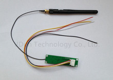 1pcs 2.4Ghz Wireless  DMX 512 2 in 1 Transmitter & Receiver PCB Modules Board with Antenna LED Controller Wifi Receiver