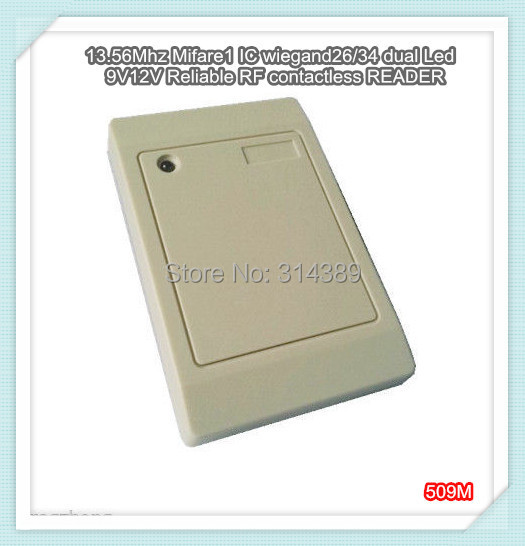 Free shipping!New 125Khz,wiegand26/34 dual Led 9V 12V epoxy packaged Reliable RF contactless EM4100/4102 ID card READER<br><br>Aliexpress