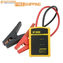 High quality new Battery Tester AUTOOL BT BOX Support Android/ISO Powerful Function Automotive Battery Analyzer(China)