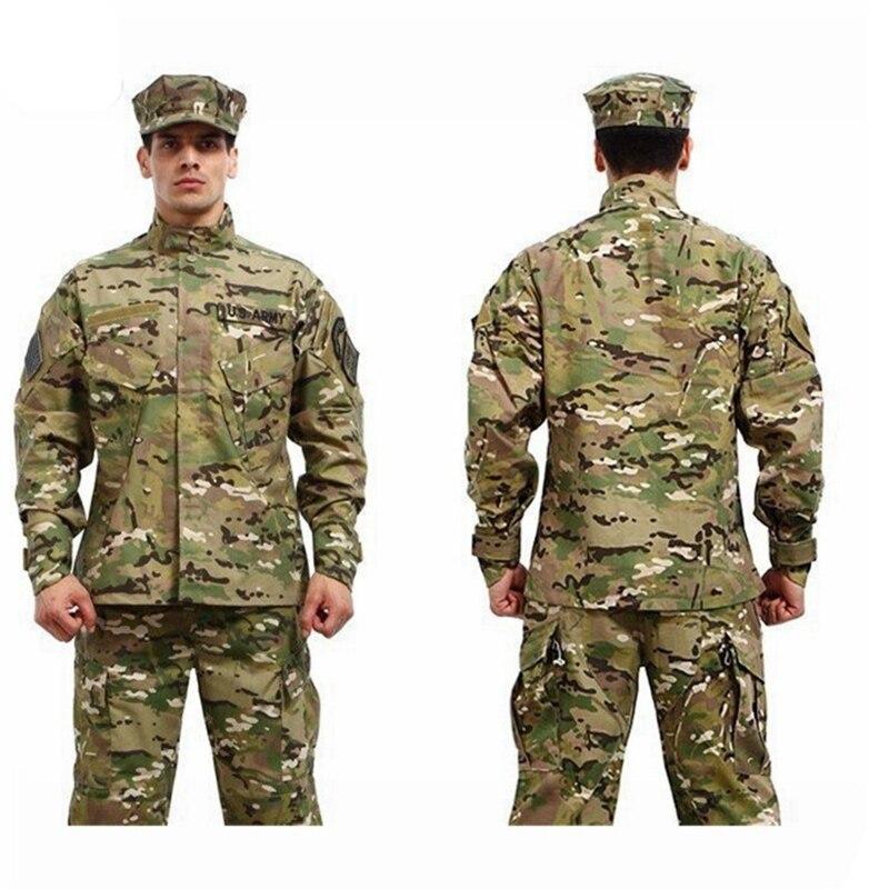 7 colors ! Military Tactical Shirt + Pants Multicam Uniforms Camouflage Uniform Military Army Uniform<br>