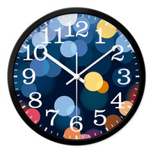 REIDA Brand 12 Inch Fashion Creative Wall Clock Living Room Modern Personality Big Clock Mute Quartz Wall Clock Home Decor