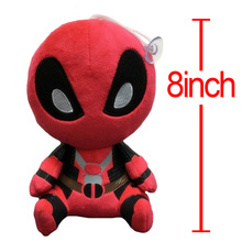 20cm Deadpool Stuffed Plush Toy Doll Movie Super Hero New Mutants Soft Figure Toy Wade Winston Wilson X-men(China)